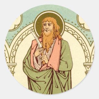 St. Bartholomew de Apostel (RLS 03) Ronde Sticker