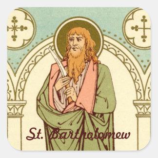 St. Bartholomew de Apostel (RLS 03) Vierkante Sticker