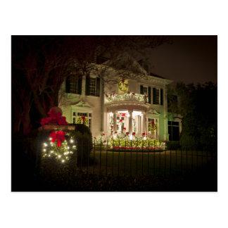 St Charles Avenue Holiday lichten Briefkaart