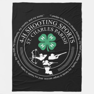 St. Charles Parish Shooting Sports Blanket Fleece Deken
