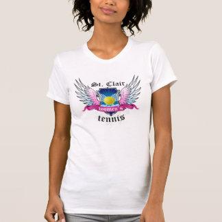 St Clair het Team van het Tennis T Shirt