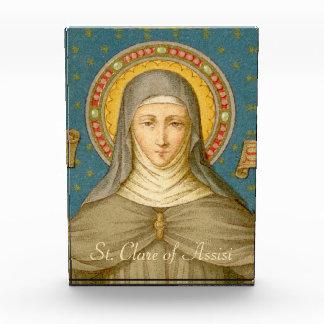 St. Clare de Presse-papier van van Assisi (SAU Prijs