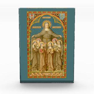 St. Clare van Assisi de Presse-papier & van Nonnen Prijs