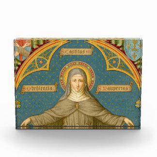 St. Clare van Assisi & Rollen (SAU 27) HorizPprwt/ Acryl Prijs