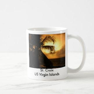 St. Croix de V.S. Maagdelijke Eilanden Koffiemok