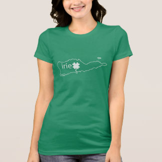 St Croix St Patrick Dag T | Irie in het Iers T Shirt