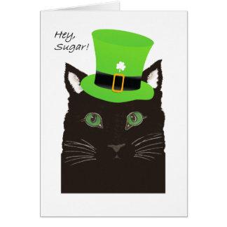 St de Dag van de Padie, Hey Suiker, Liefje, Kat Briefkaarten 0
