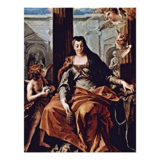 St. Elizabeth van Hongarije door Ricci Sebastiano Fullcolor Folder