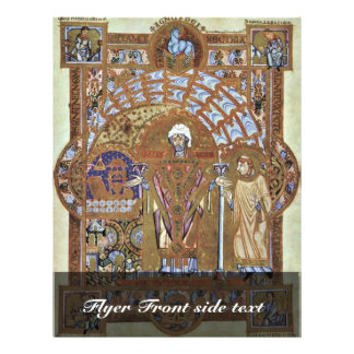 St. Erhard, leest de Markt door Meister Des Uta-Co Fullcolor Folder