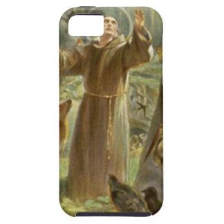 St. Francis dat van Assisi aan de Dieren predikt Tough iPhone 5 Hoesje
