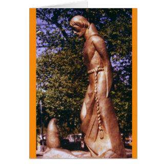 St Francis en de Prairiehond Briefkaarten 0