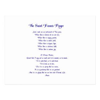 St Francis Peace Prayer Briefkaart