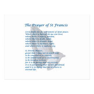 St Francis Prayer Briefkaart