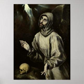 St. Francis van Assisi Poster