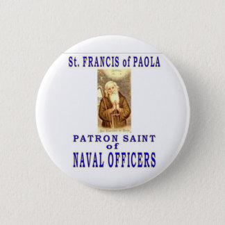 St FRANCIS van PAYOLA Ronde Button 5,7 Cm