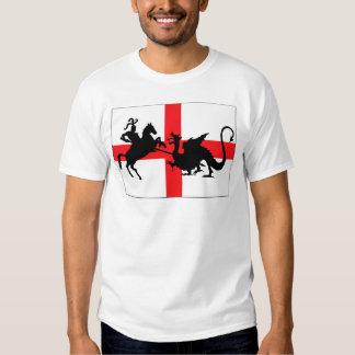 St George de Engelse vlag van de Dag Tshirt