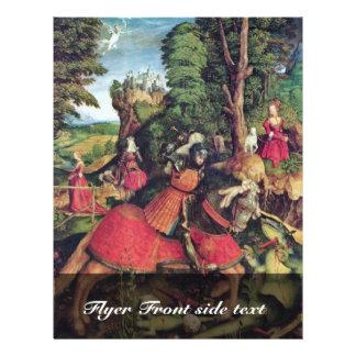 St. George Fighting de Draak door Beck Leonhar Folder Ontwerp