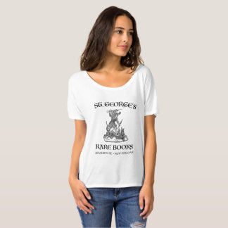 St. George Zeldzame Boeken T Shirt