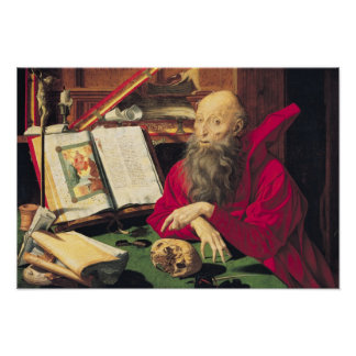 St. Jerome Poster