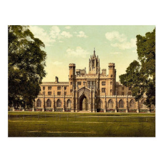 St. John Universiteit, Cambridge, Engeland Briefkaart