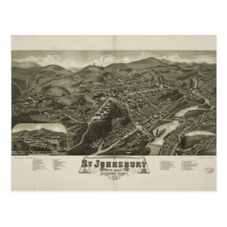 St. Johnsbury Vermont 1884 Briefkaart