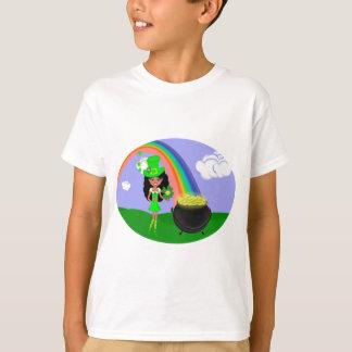 St Kabouter van het Meisje van de Dag van het T Shirt