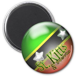 St. Kitts & Nevis Patriottische Magneet