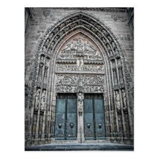 St. Lorenz Cathedral - het Briefkaart van