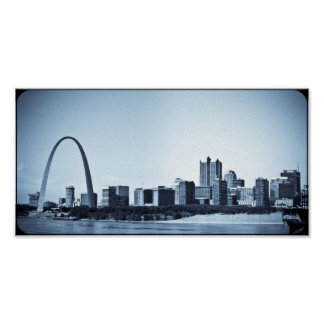 St.Louis boog Poster