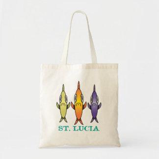 St. Lucia 3-vissen Draagtas