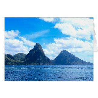 St. Lucia al gelegenheidskaart Briefkaarten 0