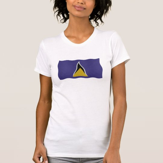 St Lucia flag T Shirt