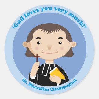 St. Marcellin Champagnat Ronde Sticker