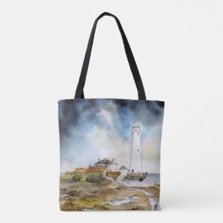 St. Mary het Canvas tas van de Vuurtoren