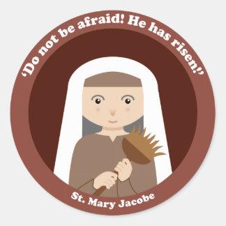St. Mary Jacobe Ronde Sticker