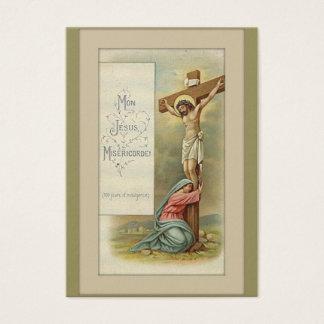 St. Mary Magdalene HOLY CARD Visitekaartjes