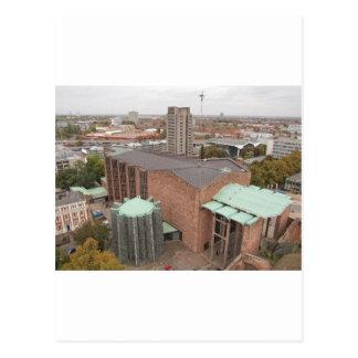 St Michael Cathedral kerk, Coventry, Engeland, het Briefkaart