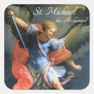 St. Michael de Stickers van de Aartsengel