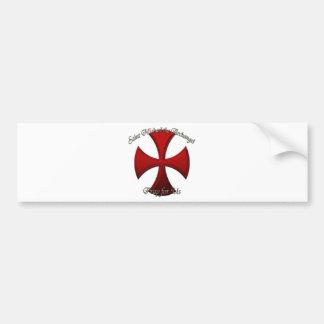 St Michael - het Kruis van het Ijzer Bumpersticker