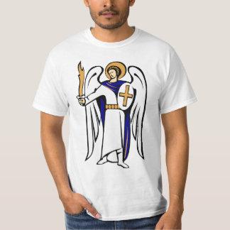 St. Michael Shirt met gebed op omgekeerde