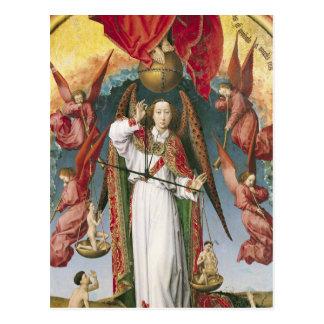 St. Michael Weighing de Zielen Briefkaart