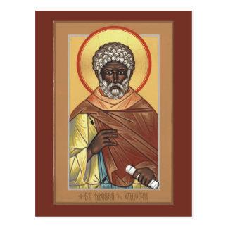St. Mozes de Ethiopische Kaart van het Gebed