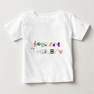 ST op het Werk Baby T Shirts