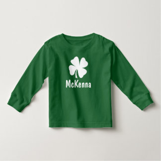 St. Patrick Dag   de Naam van de Klaver Kinder Shirts