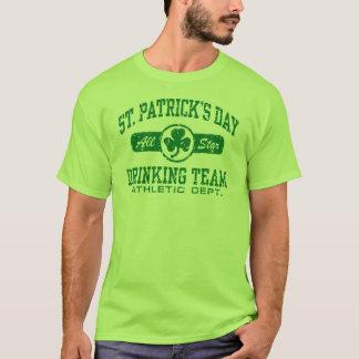 St. Patrick Dag die Team drink T Shirt