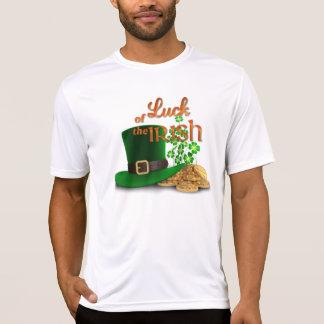 """St. Patrick Dag - """"Geluk van de Ieren """" T Shirt"""