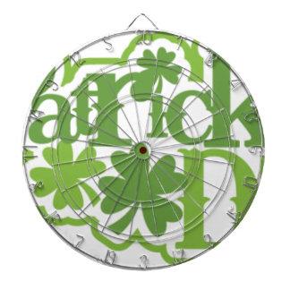 St Patrick dag, het Irish ontwerp van Heilige Dartbord