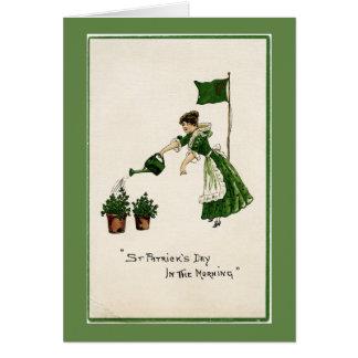 St. Patrick Dag in de Kaart van de Nota van de
