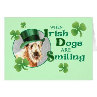 St. Patrick Dag Wheaten Terrier Kaart
