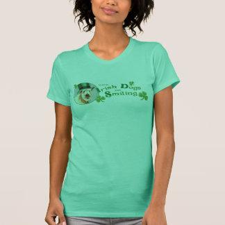 St. Patrick Dag Wheaten Terrier T Shirt